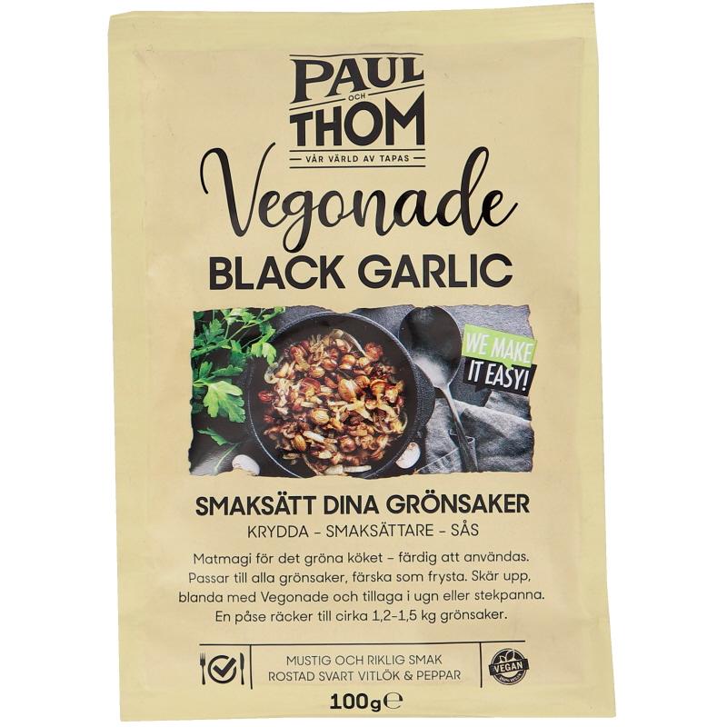 Vegansk Marinad Black Garlic - 25% rabatt