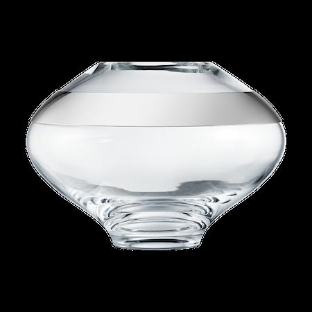 Duo Round Vase Glass Medium