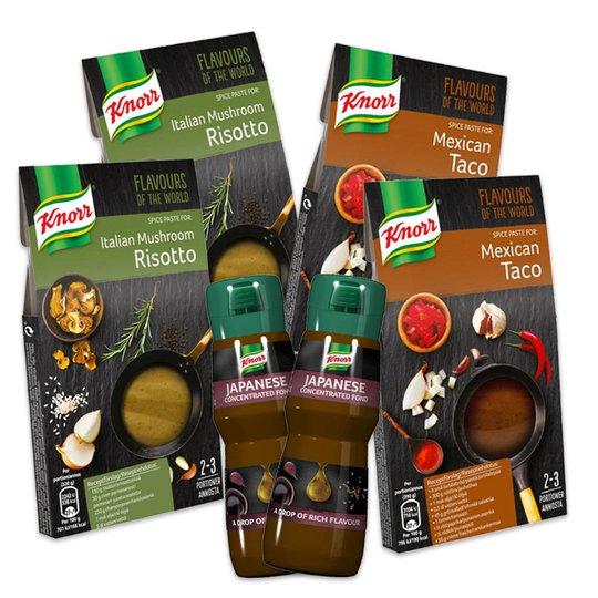 "Knorr Smak-paket ""Flavours of the world"" - 91% rabatt"