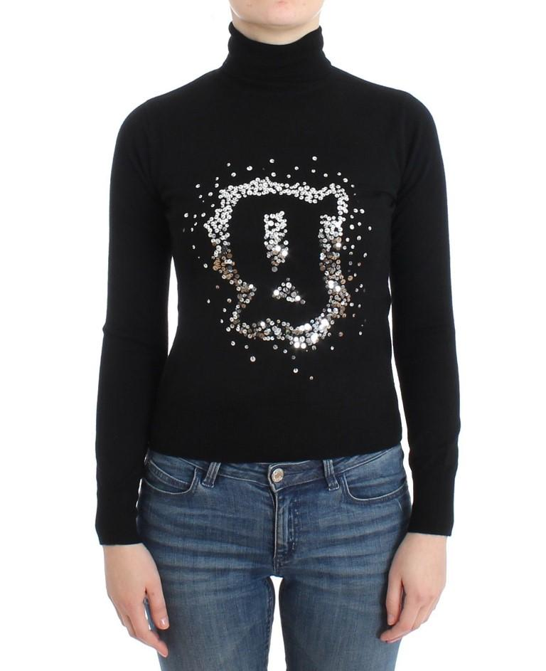 John Galliano Women's Wool Turtleneck Sweater Black SIG11970 - XXS