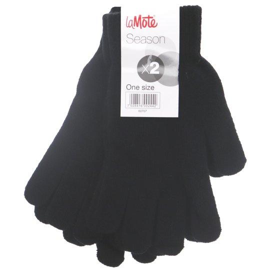 Sormikkaat Musta One Size - 50% alennus