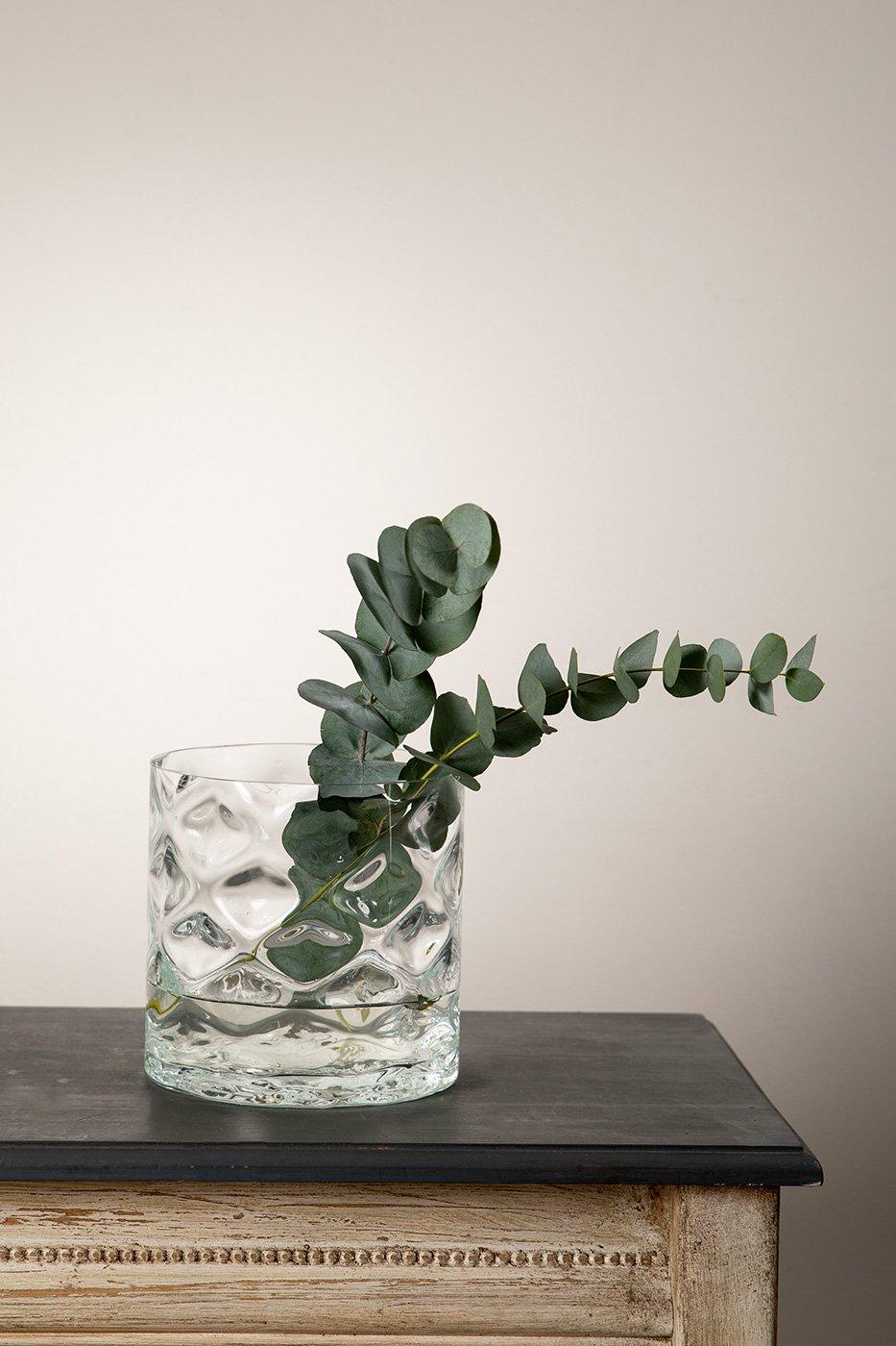 Vas Anemon klarglas låg