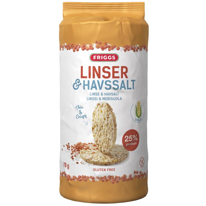Majskakor Linser & Havssalt - 25% rabatt