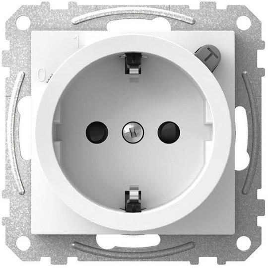 Schneider Electric Exxact WDE002323 Seinäpistorasia vikavirtasuojalla, 1-osainen