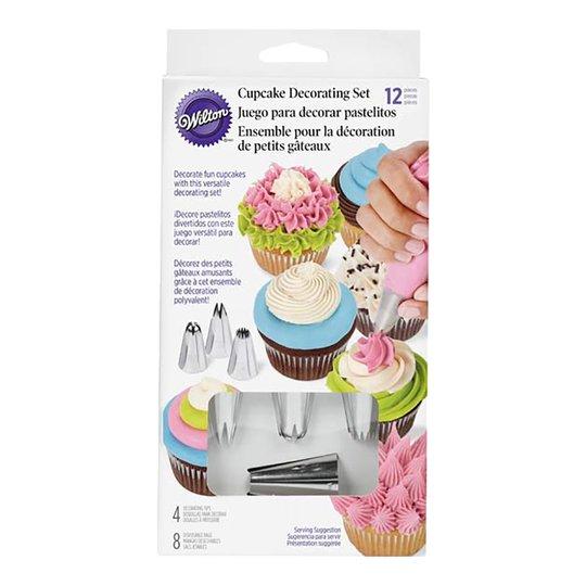 Wilton - Dekoreringsset muffins 12 delar