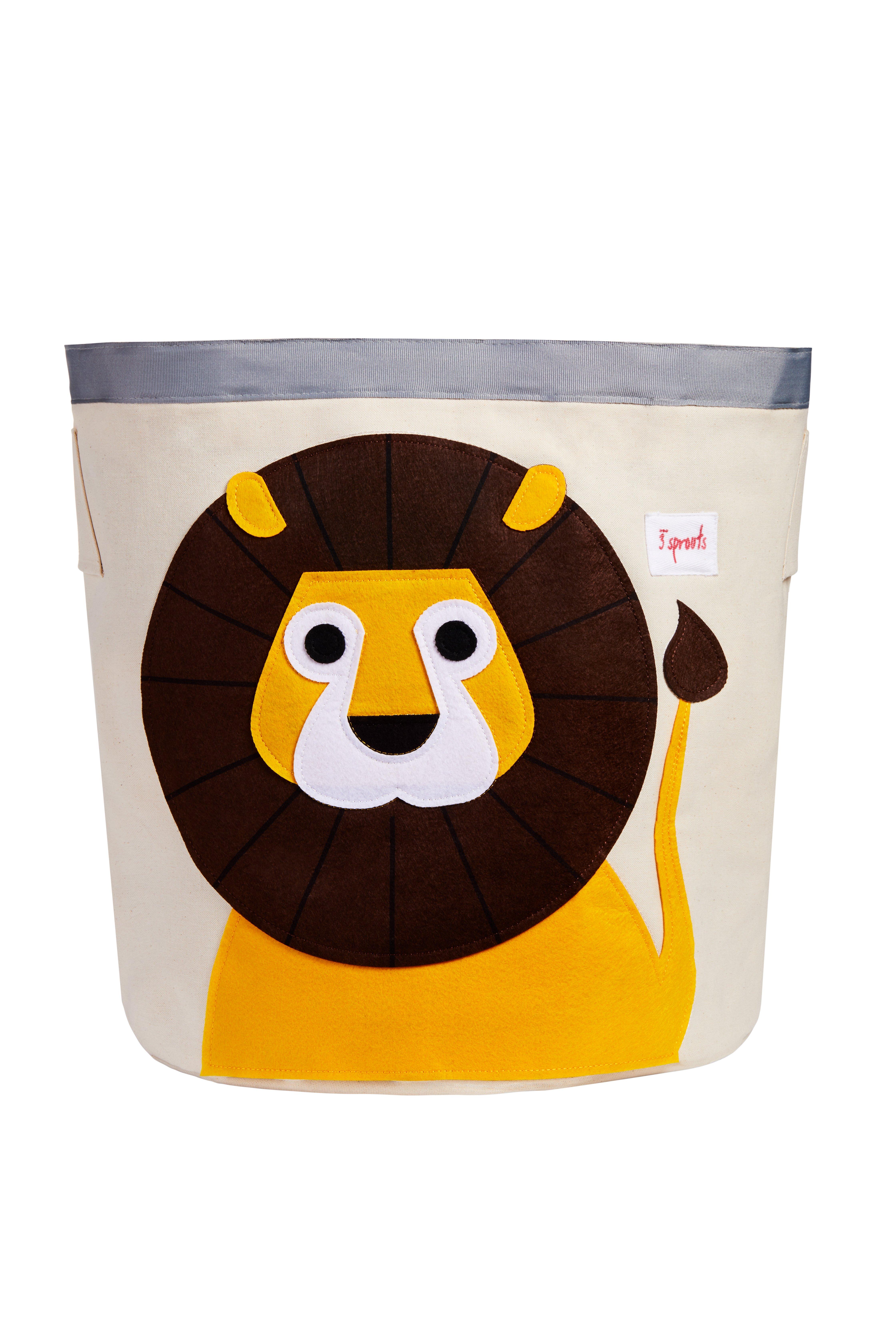3 Sprouts - Storage Bin - Yellow Lion