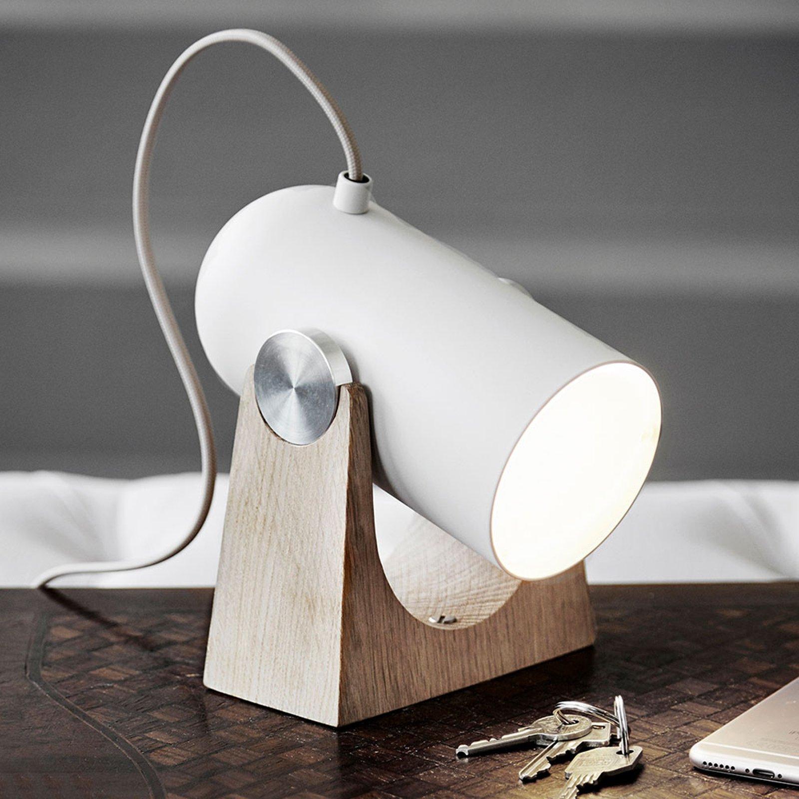 LE KLINT Carronade - sandfarget bordlampe
