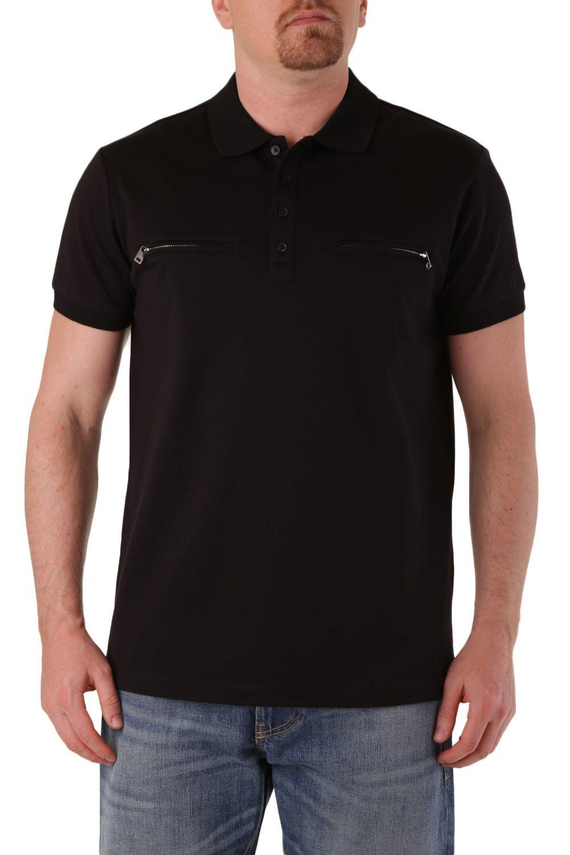 Diesel Men's Polo Shirt Various Colours 283866 - black-2 XL