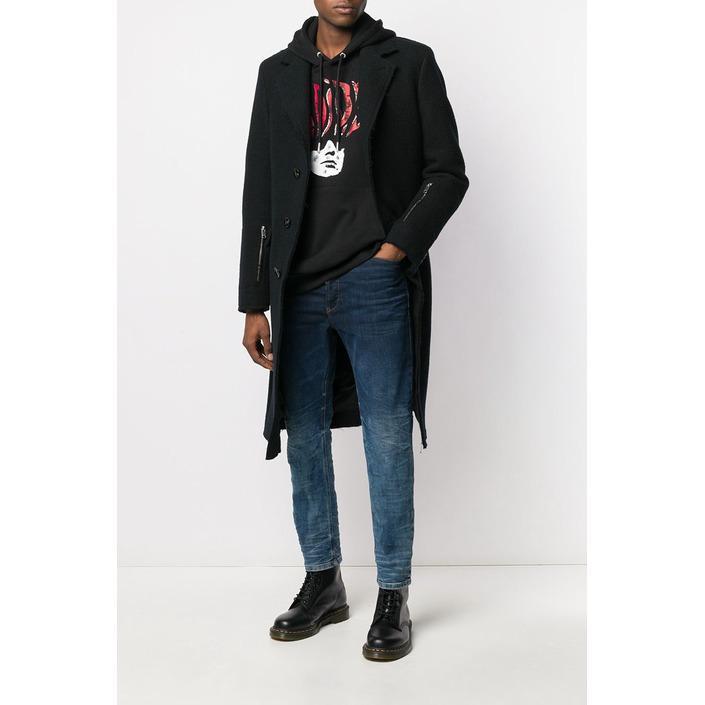 Diesel Men's Coat Black 320396 - black 50
