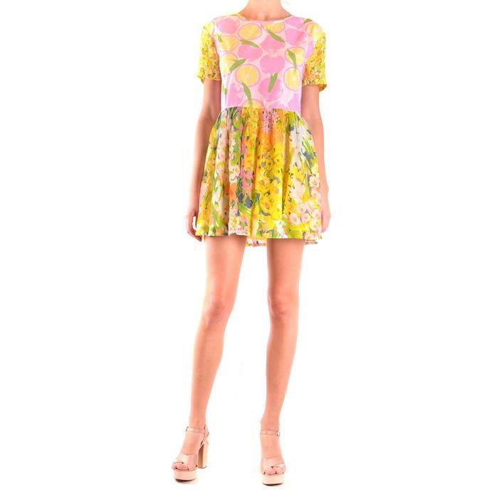 Boutique Moschino Women's Dress Multicolor 187164 - multicolor 44
