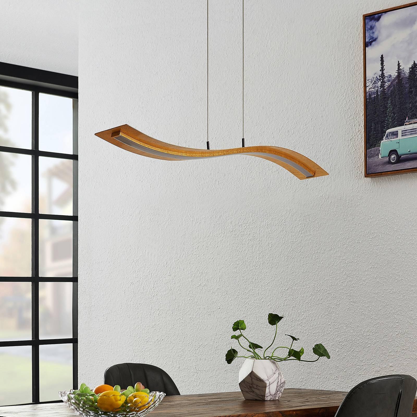 Lindby Larisa -LED-riippuvalaisin, pituus 115 cm