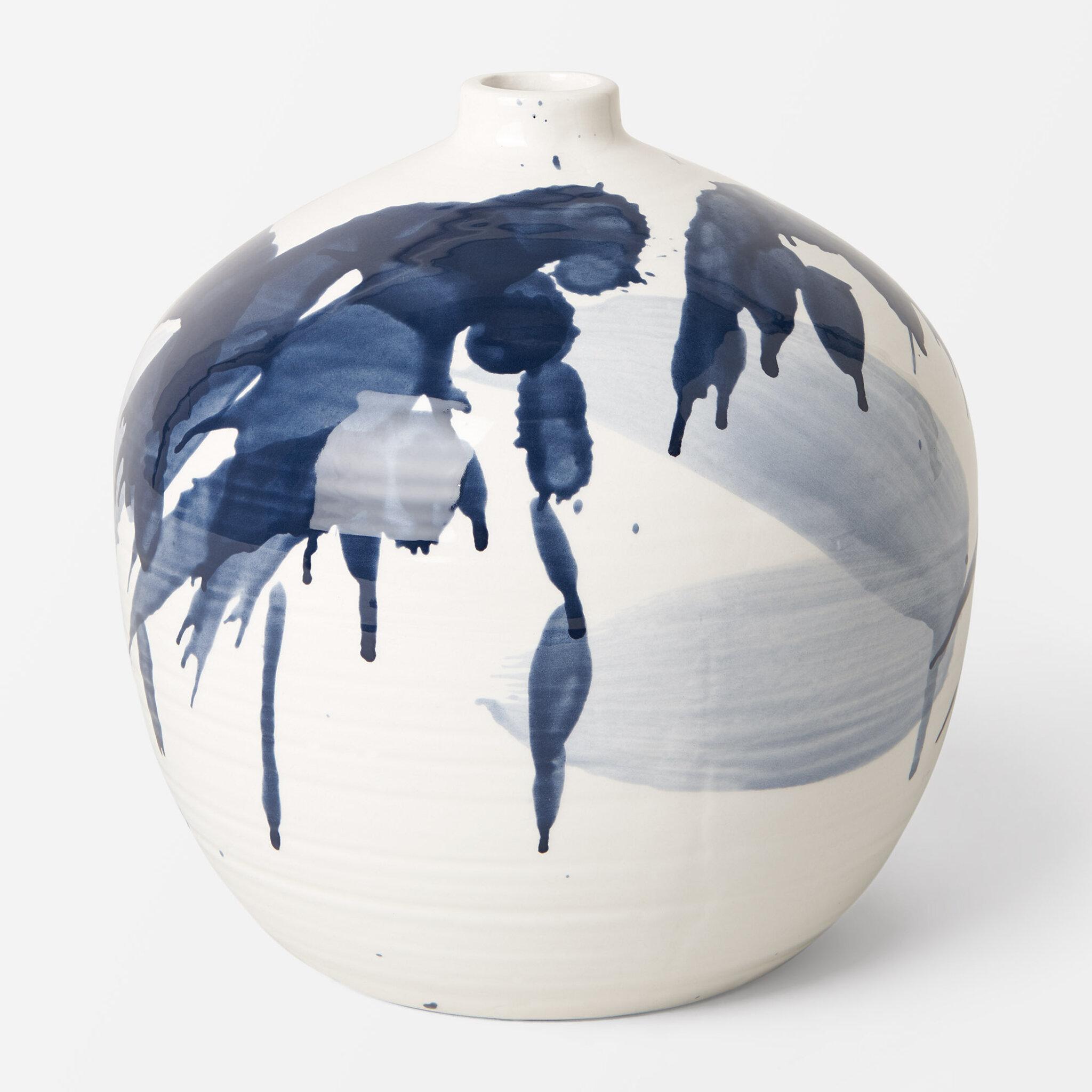 Rund vas, D18xH18cm