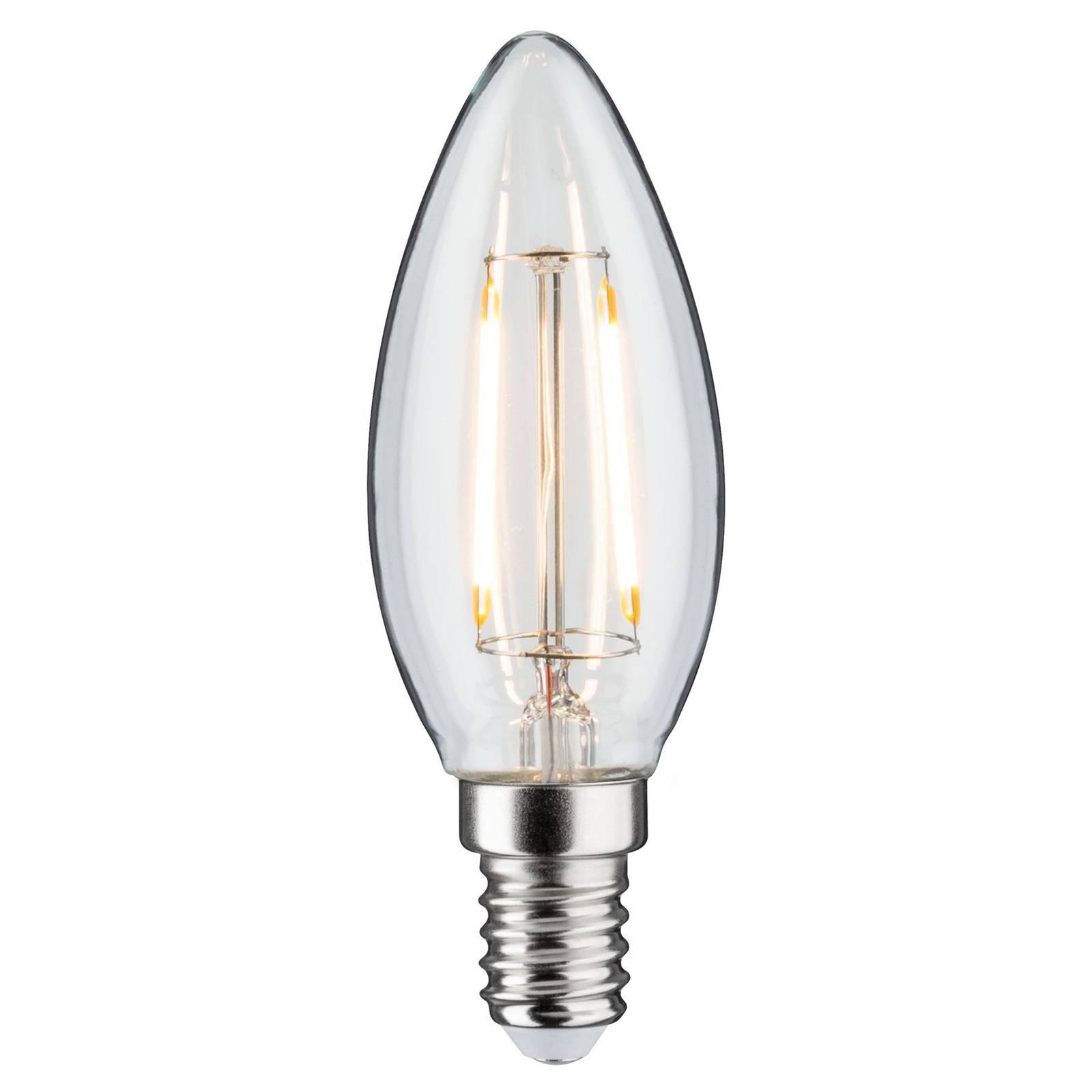 Paulmann-LED-kynttilälamppu E14 2W 3 000 K DC 24V