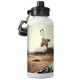 White Sports Bottle