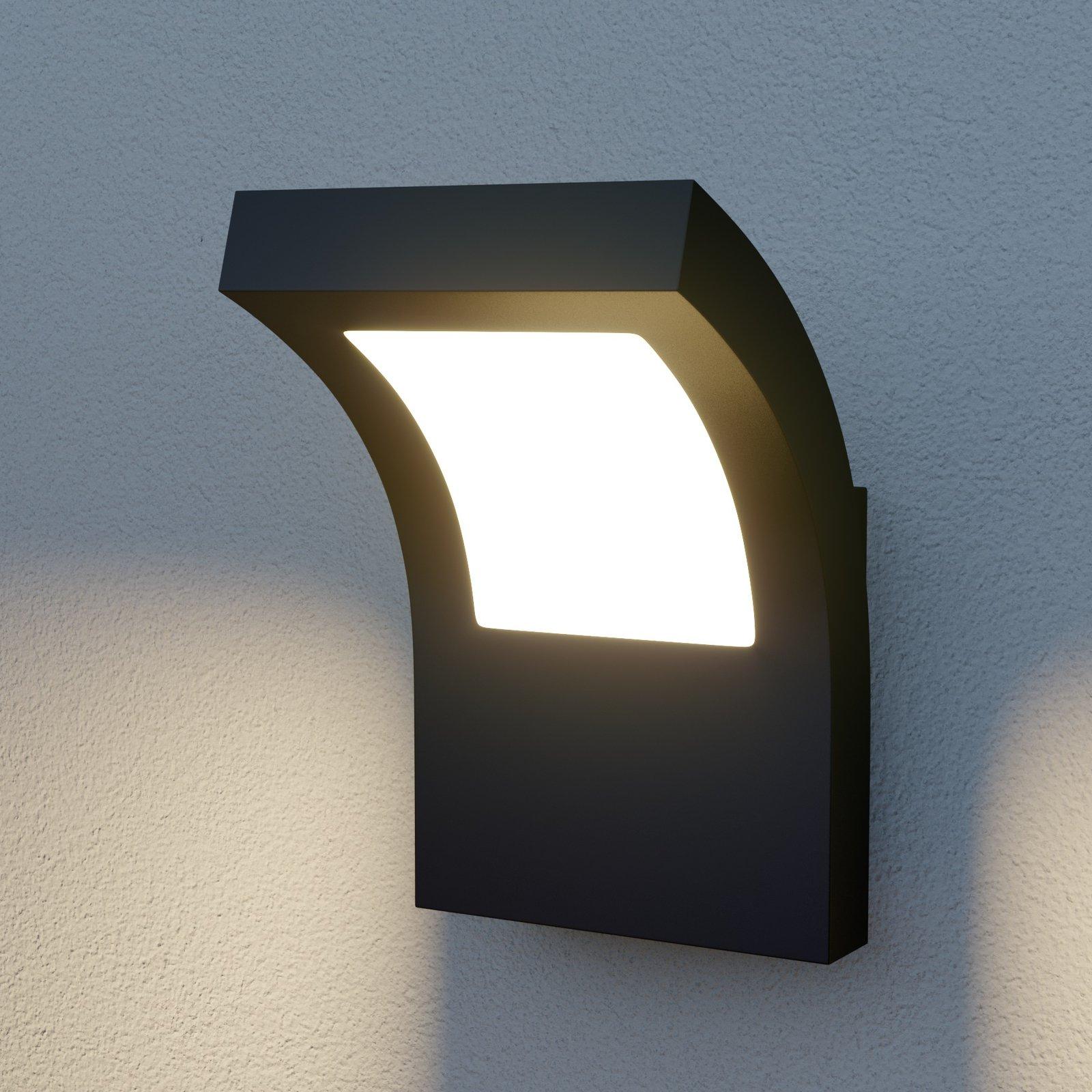 Arcchio Cassian utendørs LED-vegglampe