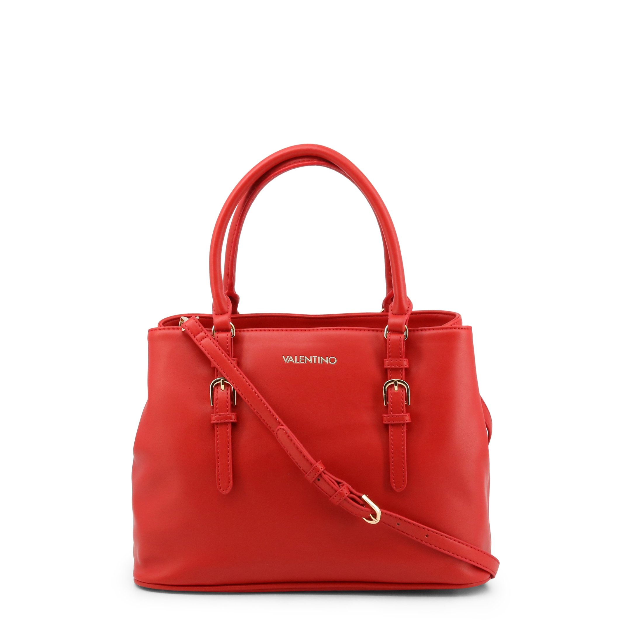 Valentino by Mario Valentino Women's Shoulder Bag Various Colours MEDUSA-VBS52O01 - red NOSIZE
