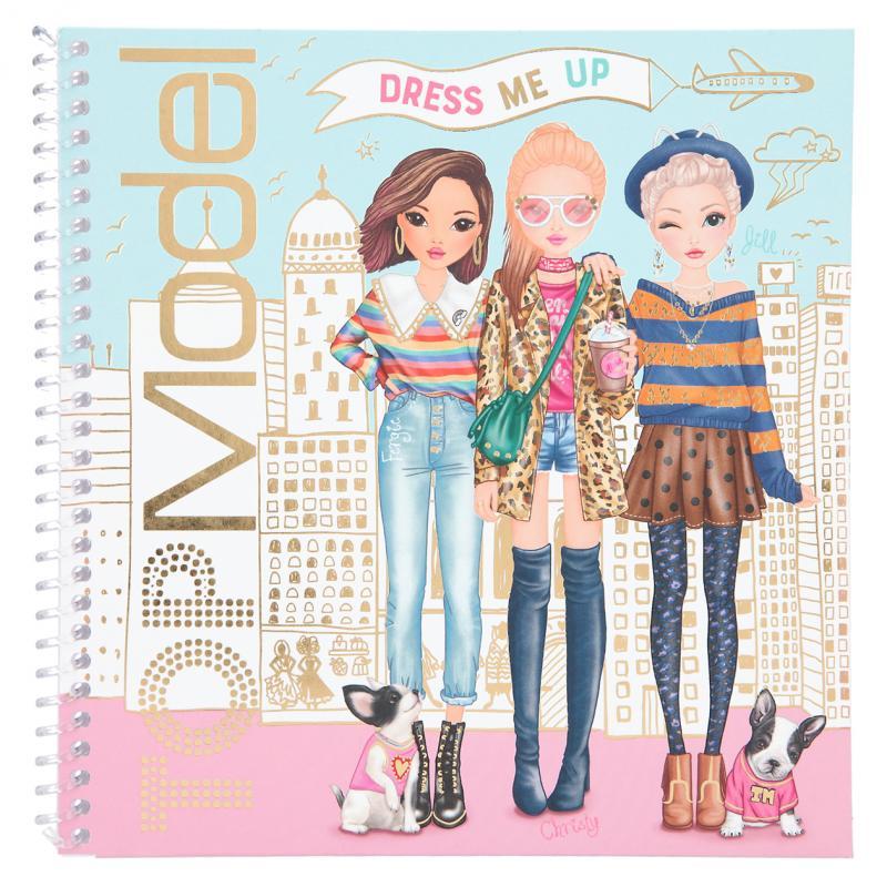 Top Model - Dress me up Sticker Book (410452)