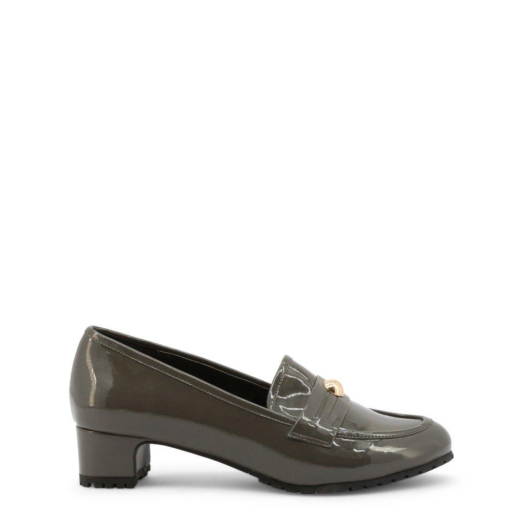 Roccobarocco Women's Moccasins Grey 337135 - grey EU 37