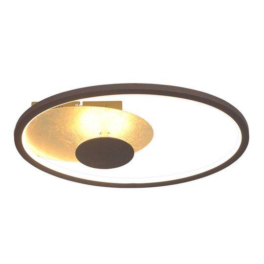 Lindby Feival -LED-kattovalaisin, 61 cm x 36 cm
