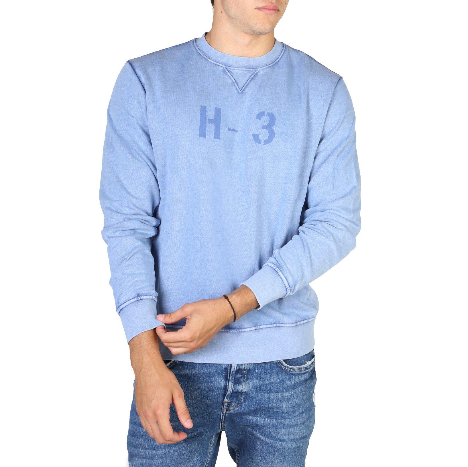 Hackett Men's Sweatshirt Blue HM580663 - blue-1 S