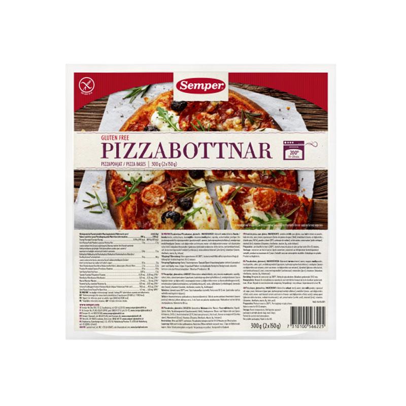 Pizzabottnar Glutenfria 2 x 150 g - 62% rabatt