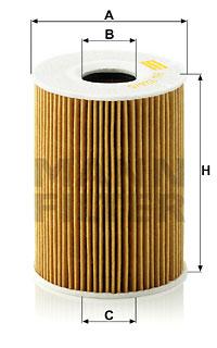 Öljynsuodatin MANN-FILTER HU 926/5 z