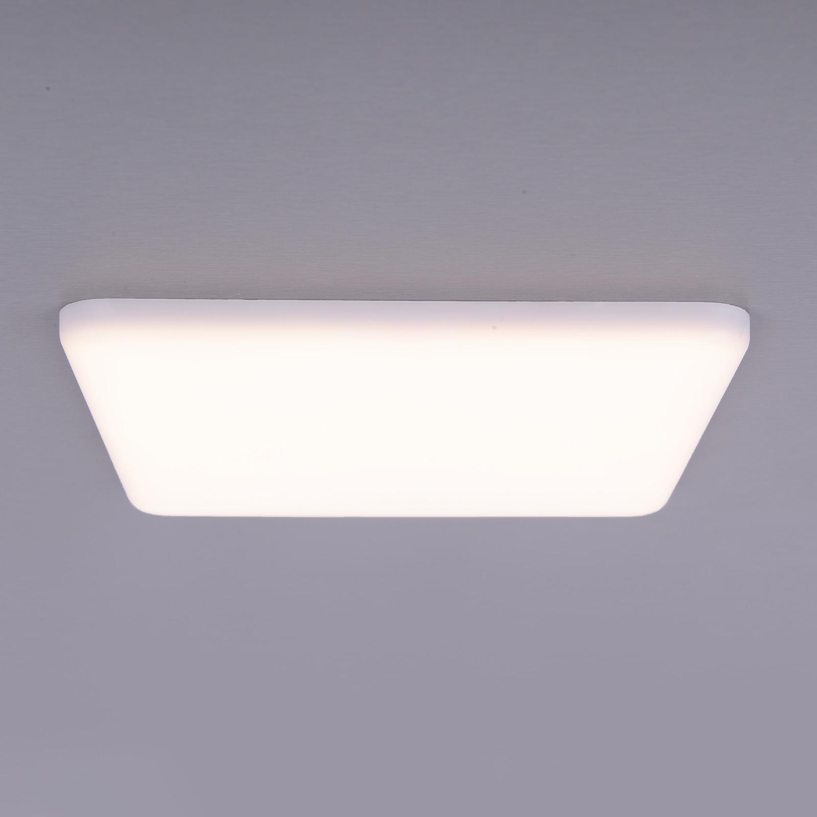 LED-uppovalaisin Sula, neliö, IP66, 21,5 cm