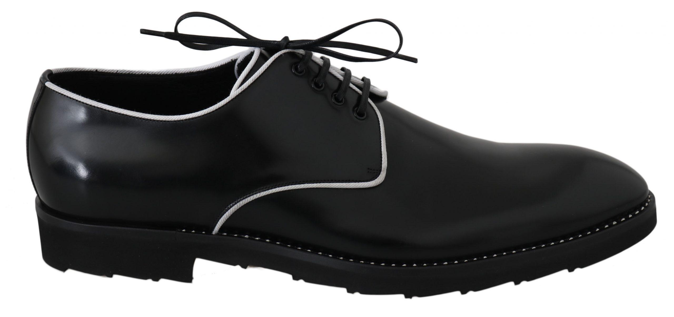 Dolce & Gabbana Men's Shoes Black, White MV2320 - EU39/US6
