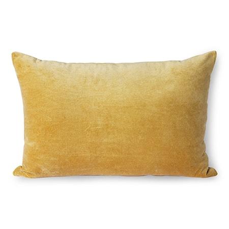 Velvet Cushion Gold 40x60 cm
