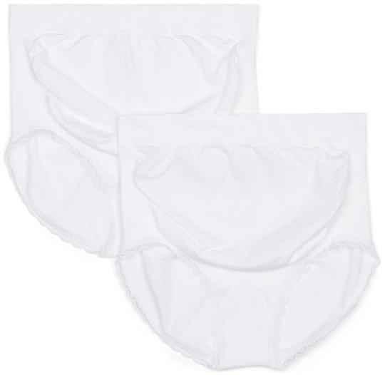 Milki Hipster Seamless 2-packs, White XS-S