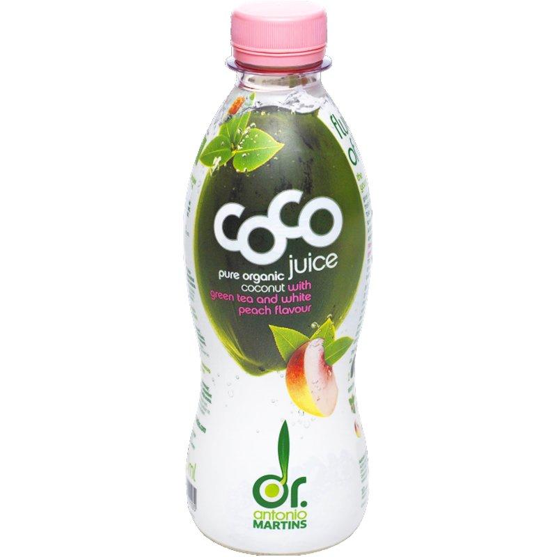 Kokosjuice Grönt Te & Persika 330ml - 55% rabatt