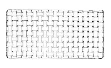 Bossa Nova Rektangulær tallerken 28x14 cm