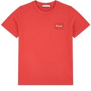 Moncler Logo T-shirt Röd 8 år