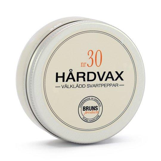 BRUNS Products Hårdvax nr 30 - Välklädd Svartpeppar, 50 ml
