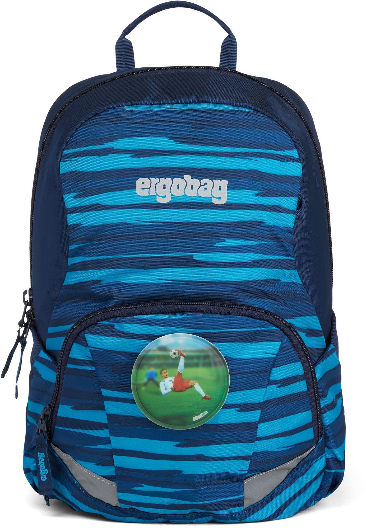 Ergobag Ease Striker Ryggsäck 10L, Blue Check