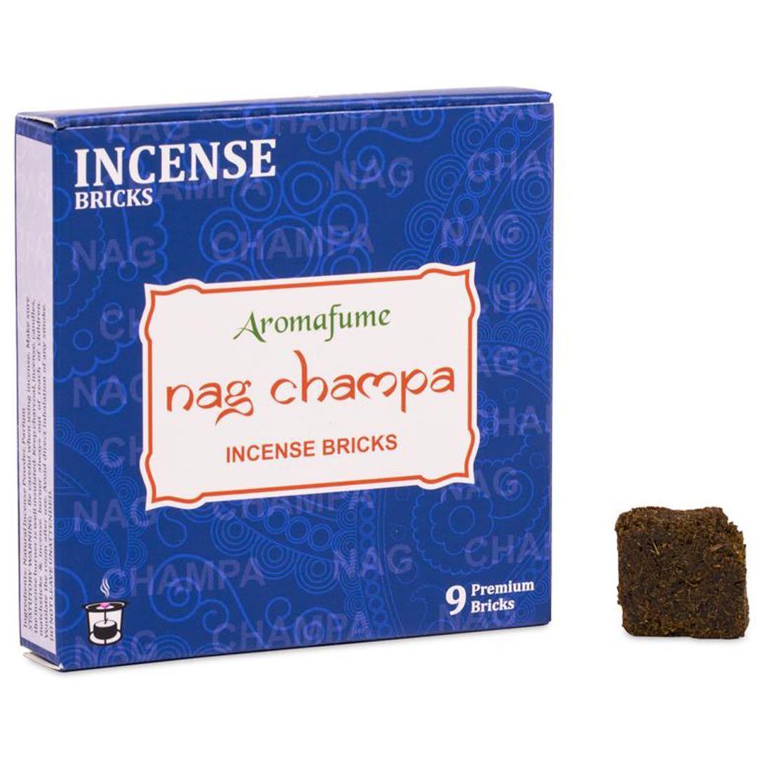 Nag Champa Rökelsebrickor Aromafume