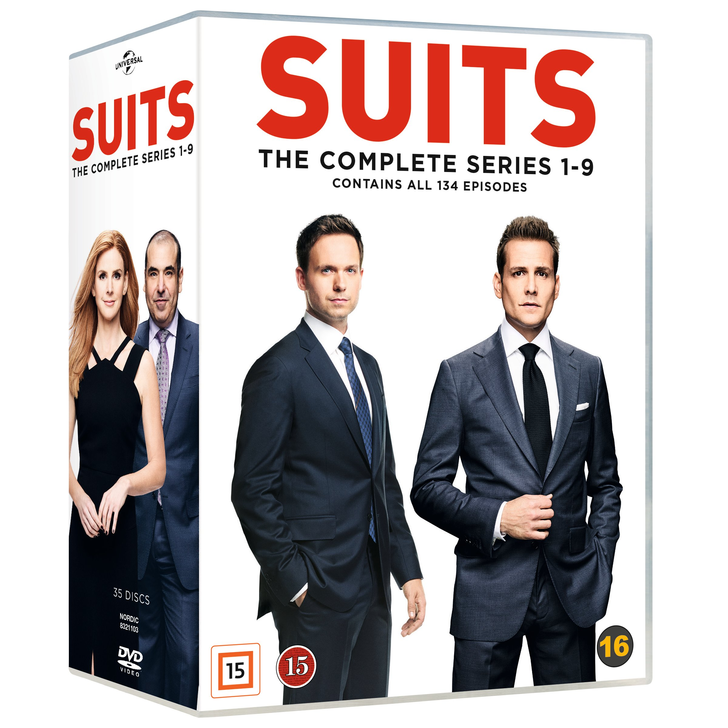 Suits Complete Series - Dvd