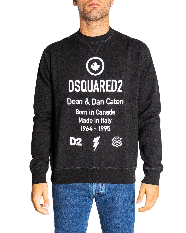 Dsquared2 - Dsquared2 Men Sweatshirts - black M