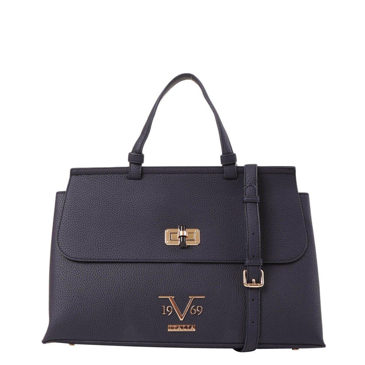 19v69 Italia Women's Handbag Various Colours 318989 - blue UNICA