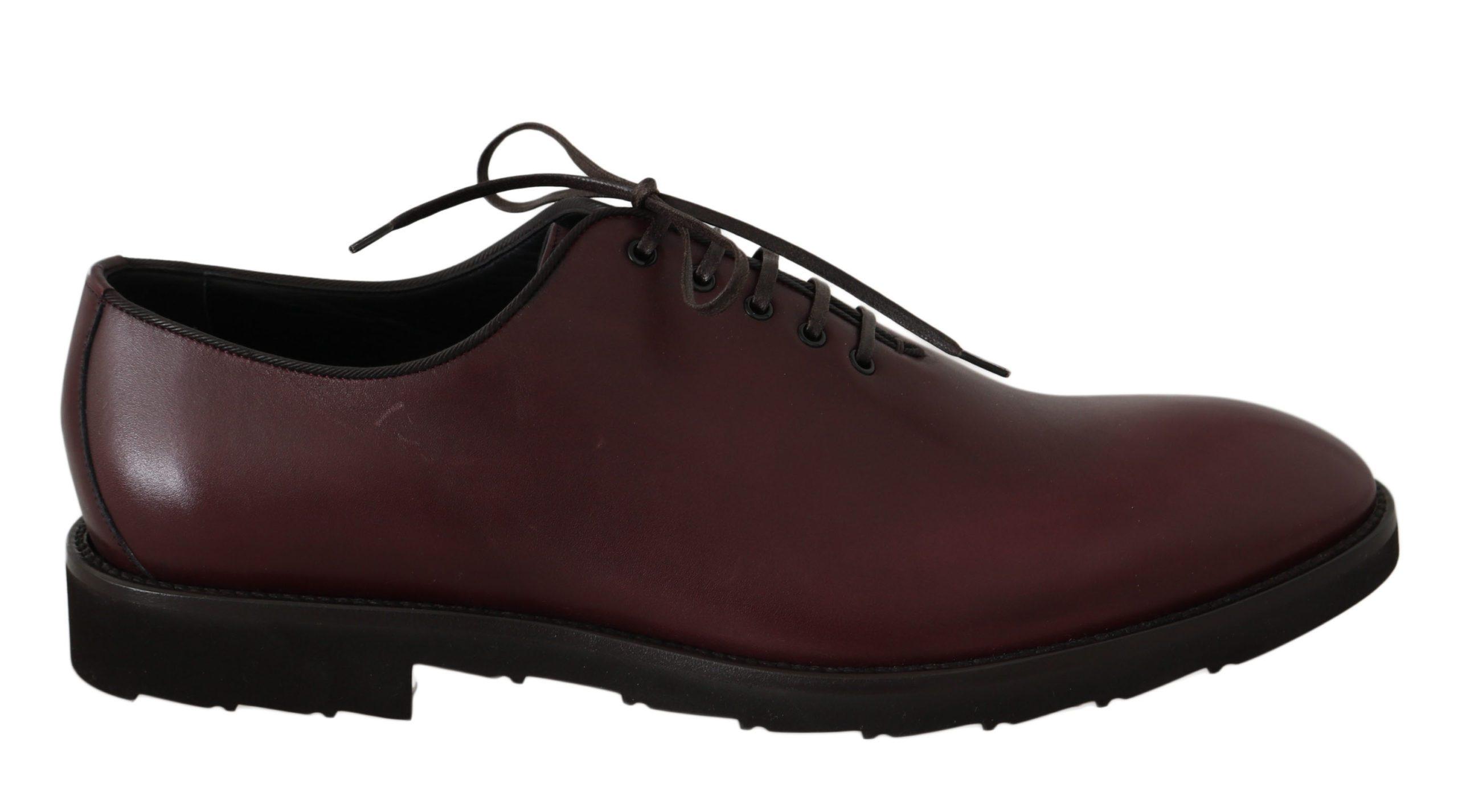 Dolce & Gabbana Men's Shoes Bordeaux MV2402 - EU45/US12
