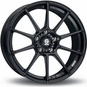 Sparco Assetto Gara Matt Black 6.5x15 4/100 ET30 B63.3
