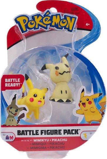 Pokémon Battle Figursett 2-Pack Minikyu & Pikachu