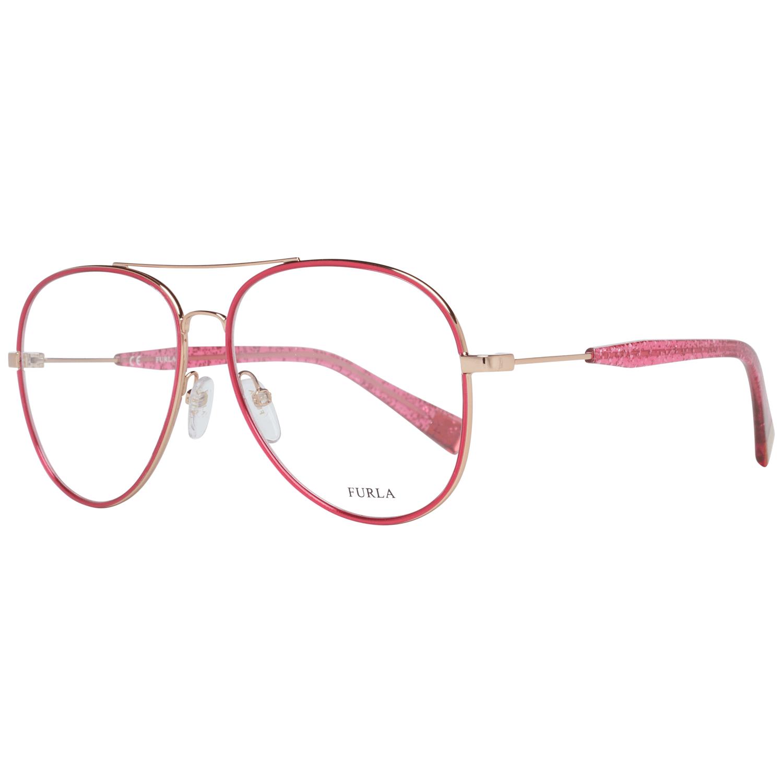 Furla Women's Optical Frames Eyewear Pink VFU278 5608FC
