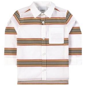 Burberry Icon Stripe Skjorta Vit 18 mån