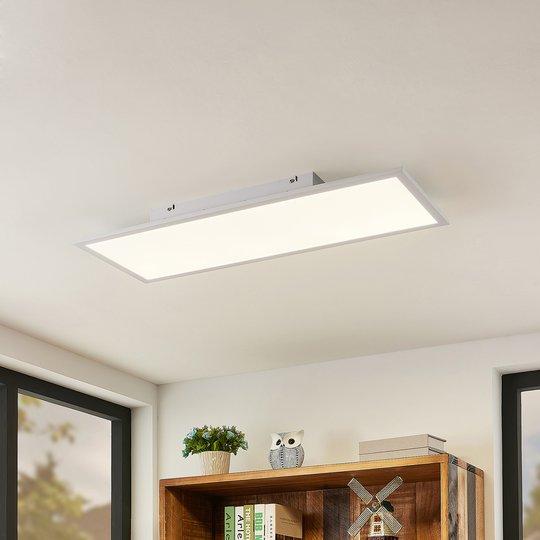 Lindby Quais LED-panel, 4 000 K, 30X80 cm