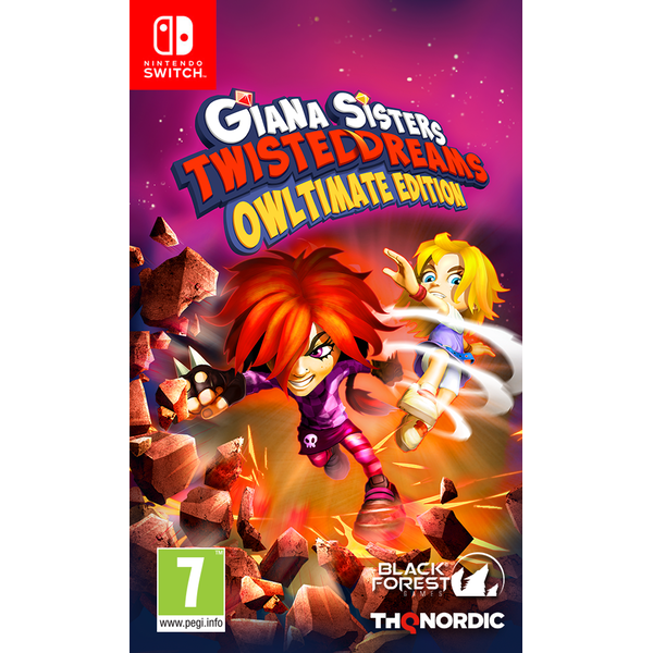Giana Sisters: Twisted Dreams (Owltimate Edition)