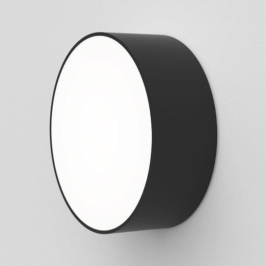 Astro Kea Round 150 -LED-seinävalaisin, musta
