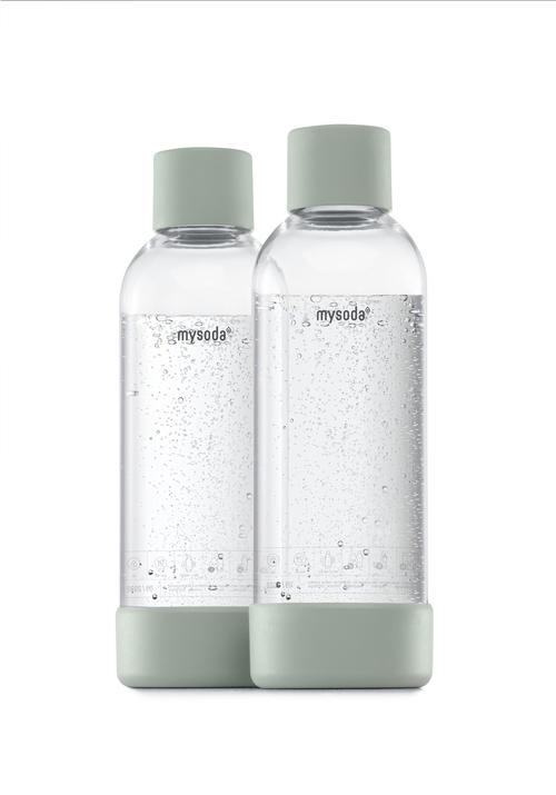 Mysoda 1l Flaske 2-pak Pigeon Kolsyremaskin - Grön