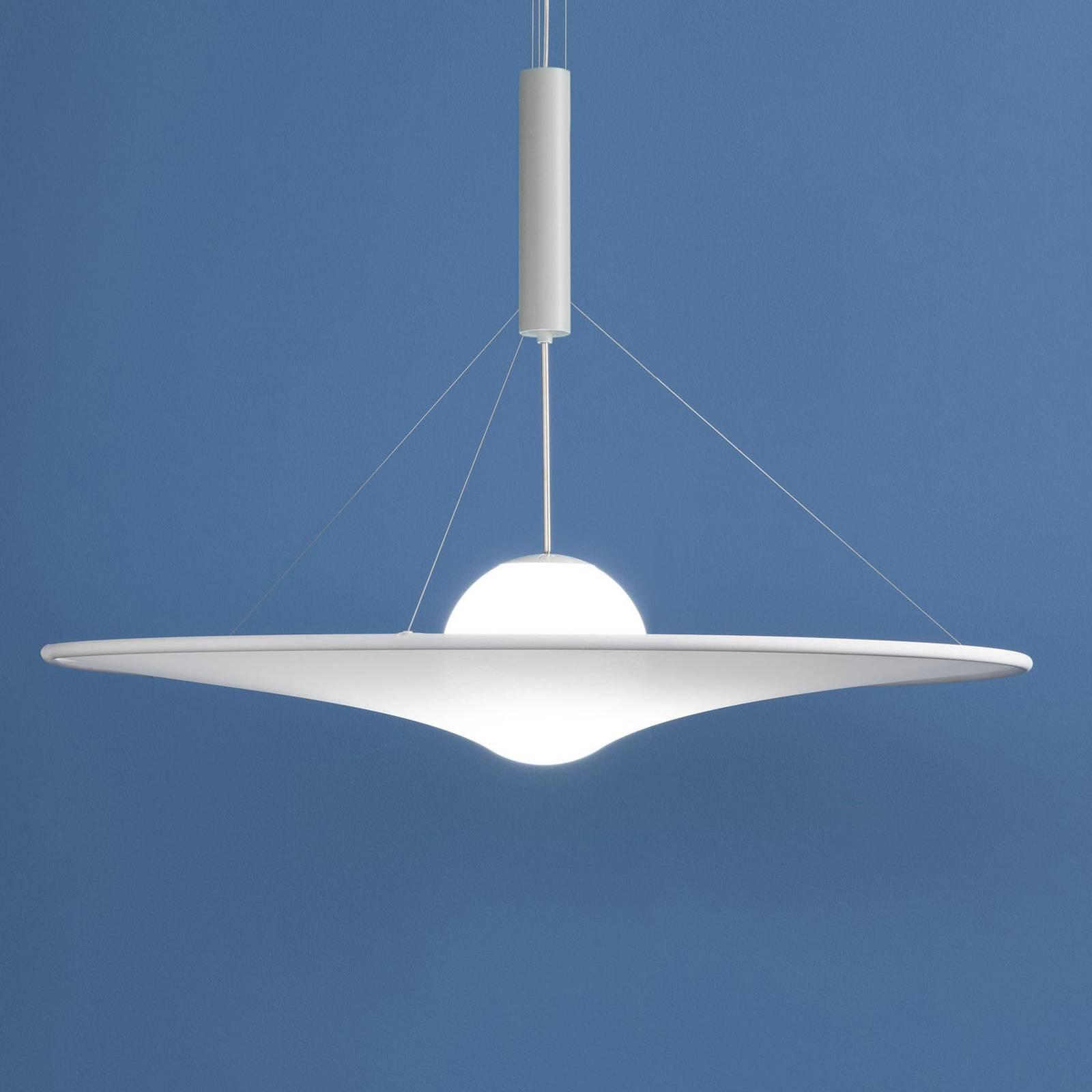 Axolight Manto LED-designer-riippuvalaisin Ø 70 cm