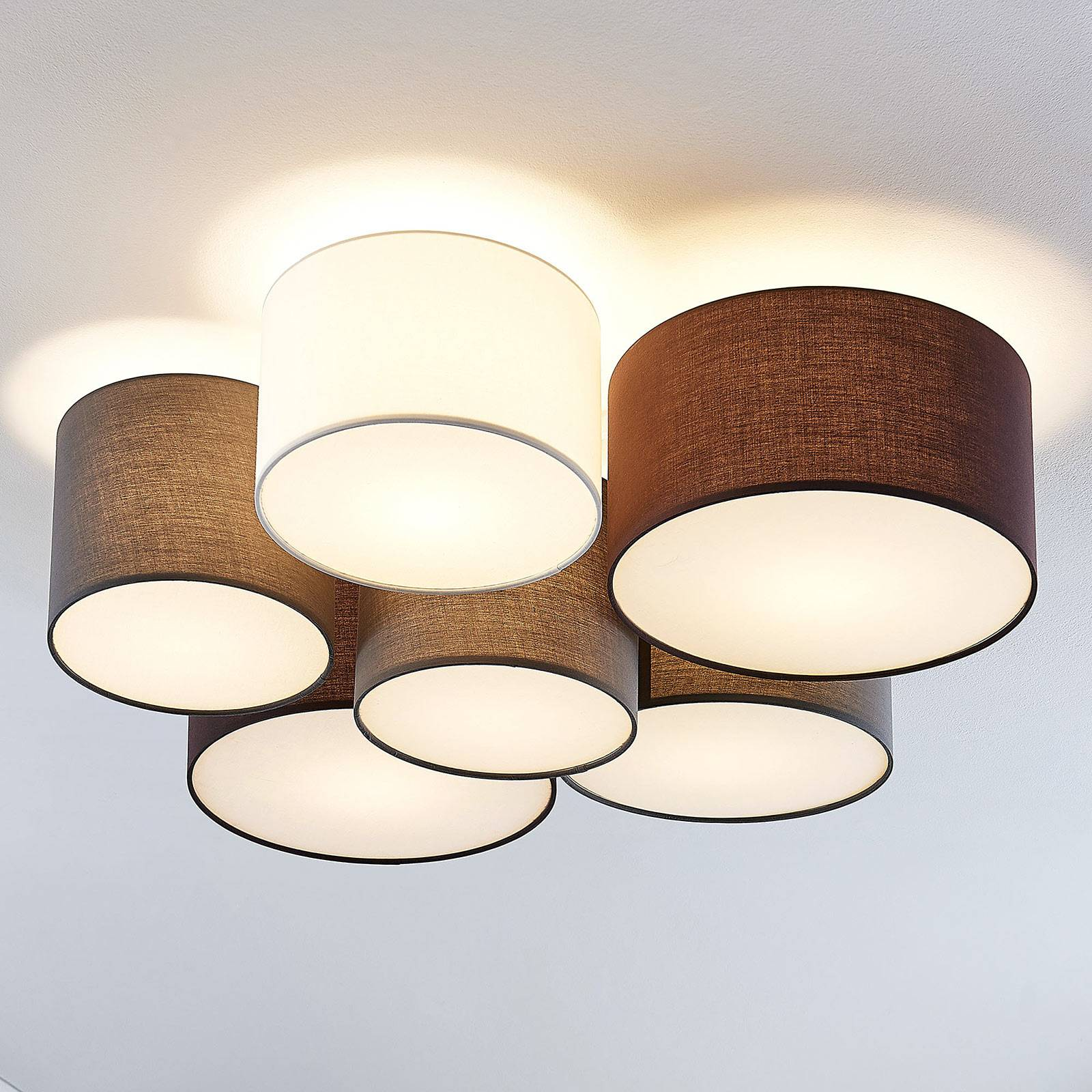 Lindby Laurenz -kattovalaisin, 6-lamppuinen